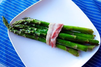 Bacon Wrapped Asparagus Healthy