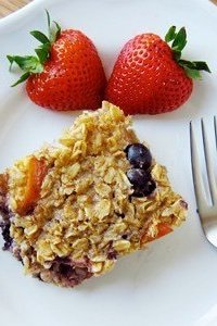 Do You Make Baked Oatmeal What Do You Put In In It