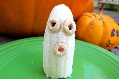 A Healthy Halloween Snack