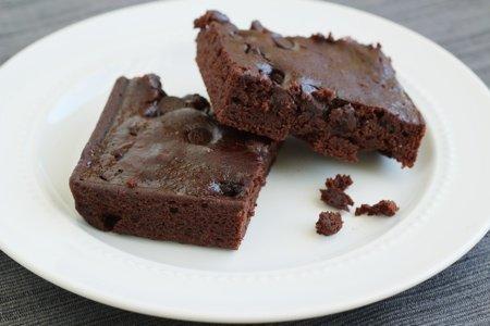 Black Bean Blender Brownies