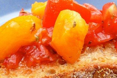 Skinny Italian Bruschetta Recipe