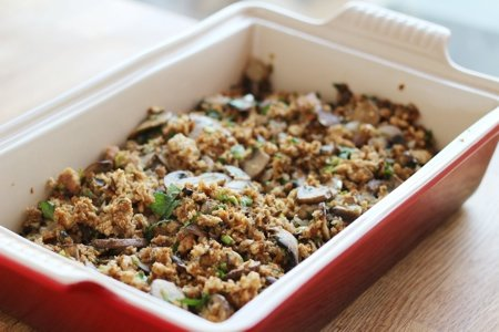Vegan Thanksgiving Stuffing