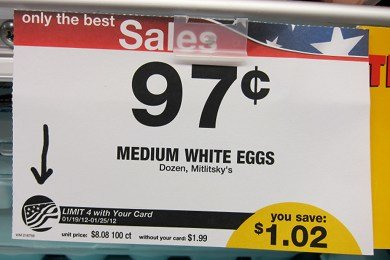 Cheap Eggs