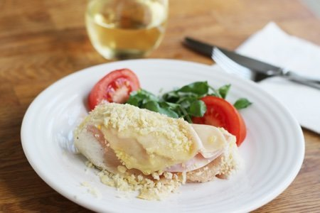 Lighter Chicken Cordon Bleu