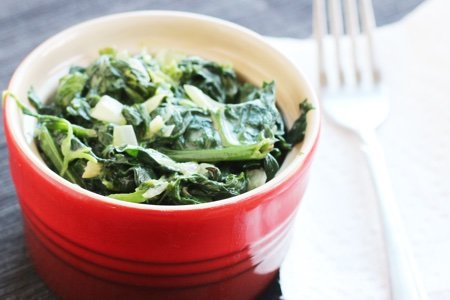 Vegan Creamed Spinach Recipe