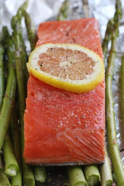 Salmon in Foil Recipe & Salmon Cooked in Foil