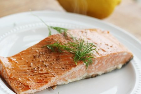 How to prepare skinless salmon fillet
