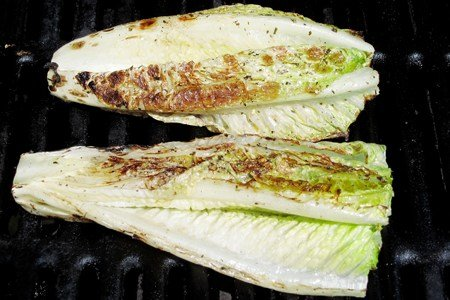 Grilled Romaine Lettuce Recipe