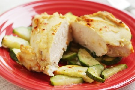 Chicken Breast with Hummus