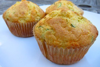 Healthy Jiffy Corn Muffins