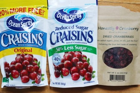 Reduced Sugar Craisins