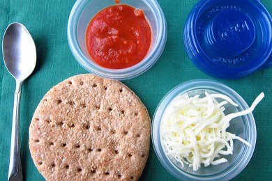 DIY Pizza Lunchable