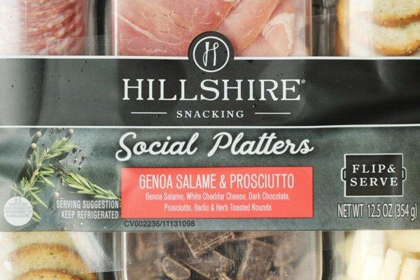 Hillshire Snacking Social Platter