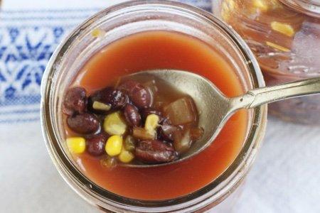 Mason Jar Soup