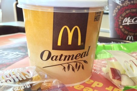 Best Way to Order McDonalds Oatmeal