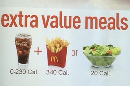 mcdonalds side salad review