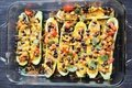 Zucchini Boats: Vegetarian
