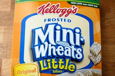 Frosted Mini Wheats Breakfast