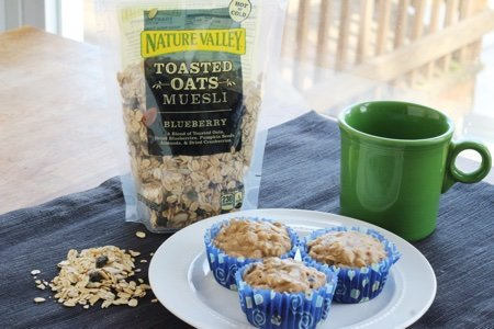 Nature Valley Muesli Muffins