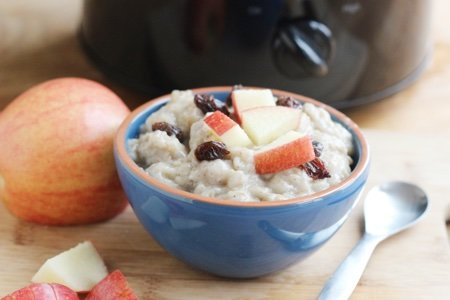Healthy Slow Cooker Oatmeal