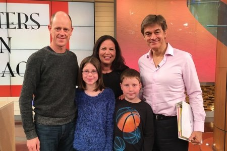 Snack Girl and Dr. Oz