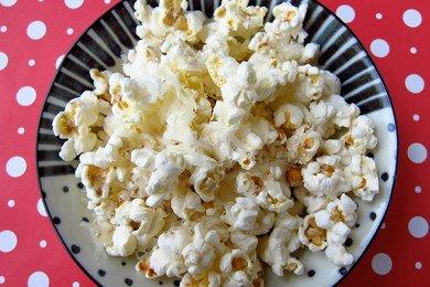 Parmesan Pepper Popcorn