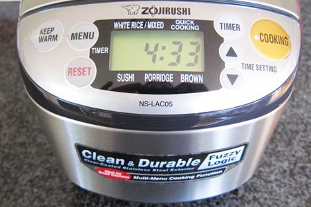 Zojirushi Rice Cooker Review