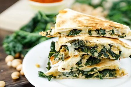 White Bean Quesadilla