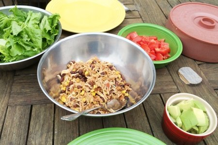 Slow Cooker Taco Filling
