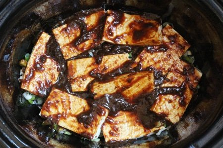 Slow Cooker Tofu