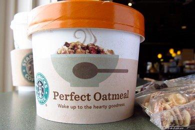 Starbucks' Oatmeal vs. McDonald's Oatmeal