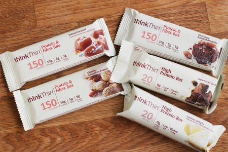 With no sugar, 20 grams of protein, and only calories, ThinkThin could easily act as a meal replacement bar or a high-protein snack. In terms of ingredients, this .