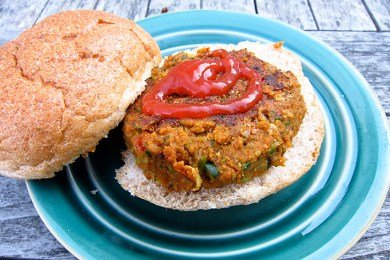 Lentil Chipotle Burger Recipe