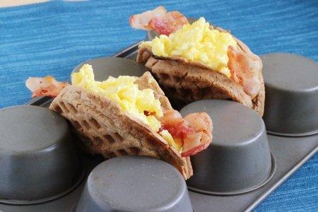 DIY Waffle Taco
