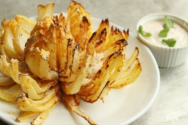 How To Make a Blooming Onion in an Air Fryer