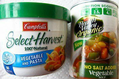 Healthy Tips for Canned Soup