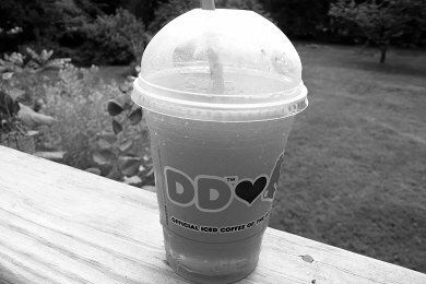 Coolatta Review: A Slushie from Dunkin' Donuts