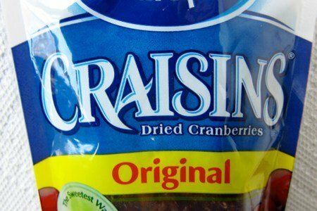 Craisins vs Raisins