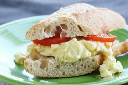 Lighter Egg Salad