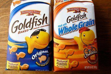 Whole Grain Goldfish Healthy