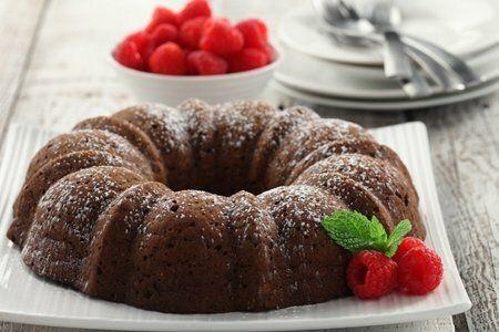Chocolate Lentil Cake Recipe