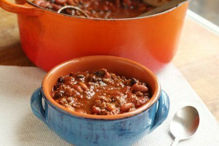 Chili With Cocoa Powder