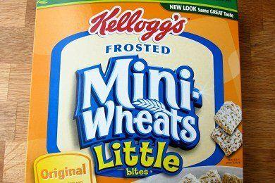Frosted Mini Wheats Breakfast