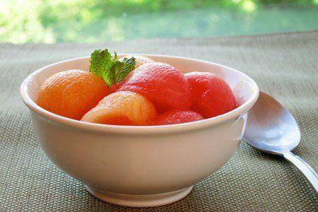 Mojito Melon Balls Dessert