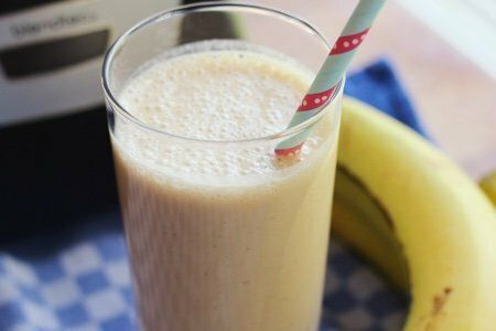 PB2 Banana Smoothie