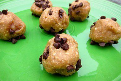 No Bake Peanut Butter Ball