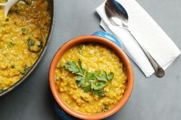 Pumpkin Lentil Stew: Vegan & Hearty