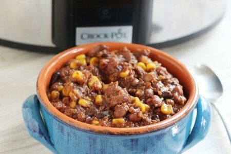 Slow Cooker Quinoa Chili:  Healthy, Inexpensive, and Delicious