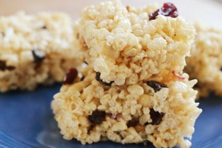 Healthy Rice Krispie Treats