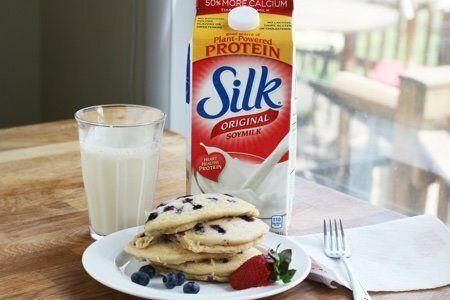 Silk Soymilk Pancakes